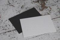 コースター用紙 黒 はがきサイズ 50枚