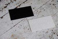 コースター用紙 白 名刺サイズ 50枚