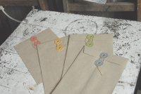 玉紐付き封筒