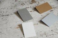 マッチ箱ケース台紙(折り曲げ用)名刺サイズ 新(高さ20mm) 20枚