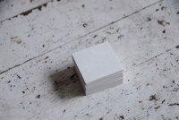 ブンペル ホワイト 正方形 ミニ 100枚