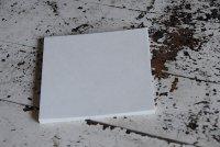 クラフト白 最厚口 正方形  50枚