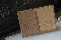 片ダンボール カレンダー台紙 はがき2列(A5)サイズ 10枚