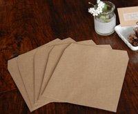 クラフト茶 CD用封筒