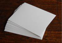 厚紙(片面 白)薄口 はがき 100枚