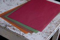 カラー薄葉紙 (濃い色) 小 50枚
