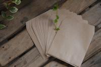 ミニスクエア封筒 クラフト茶 100枚