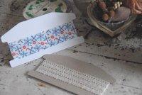 家型糸巻き台紙 M 白