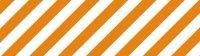 マスキングテープ ストライプ オレンジ
