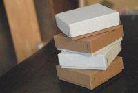 ステッチャーかぶせ型BOX ミニ カフェラテ 7.5×7.5