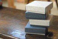 ステッチャーかぶせ型BOX ミニ ネイビー 7.5×7.5