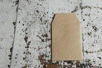 クラフト封筒 名刺サイズ縦型封筒(10×7) 茶 50枚