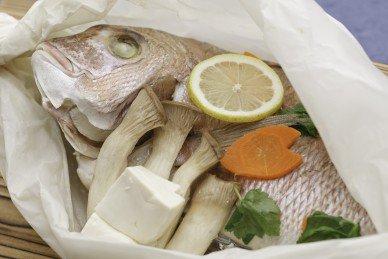 蒸焼き鯛&レモン鯛セット