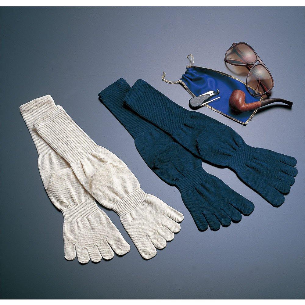 【SILK】健康5<br>絹 5本指靴下 シルク 5本指ソックス 水虫 臭い ムレ