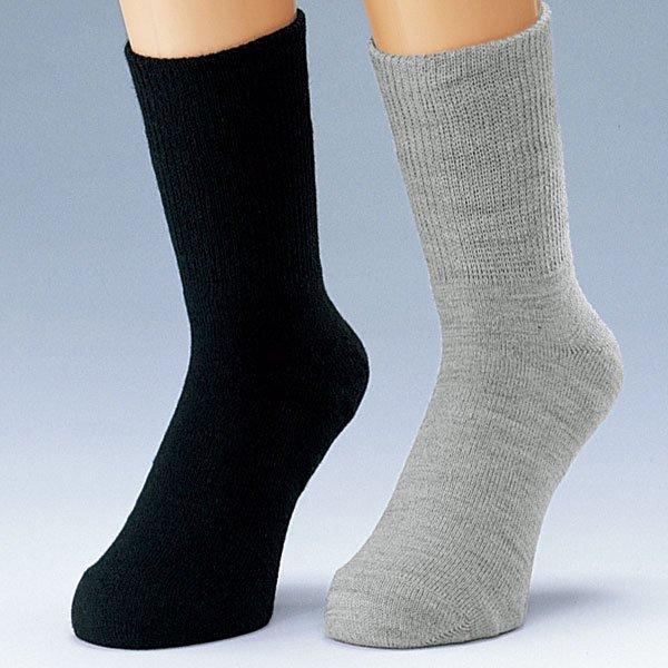 【ゲルマ】かかとつるつるソックス<br><男性用><br>男性の踵ケア ささくれ割れ 履くだけでつるつるカカト! 痛い乾燥踵の予防!!