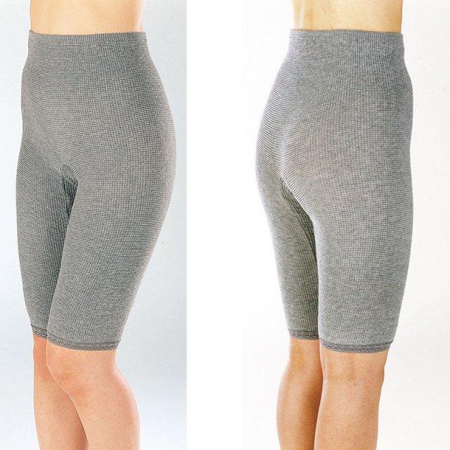 【備長炭】【EM−X】のびのびパンツ5分丈 のびのび構造 お腹・腰・膝をスッキリ 女性のうれしいを考えた