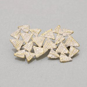 小原聖子 brooch WHITE 22