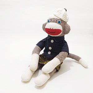 sock monkey ソックモンキー・M / 002