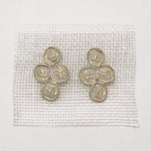 小原聖子 pierced earrings WHITE 17