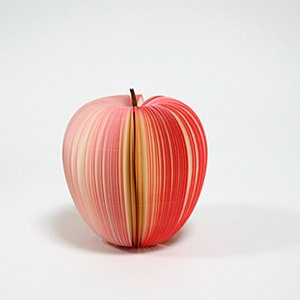 D-BROS フルーツメモ [KUDAMEMO] リンゴ
