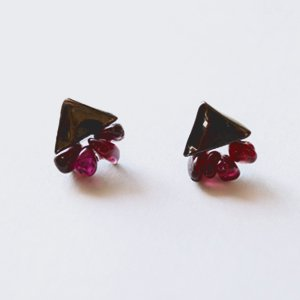 Tenpchi pierced earrings / 084