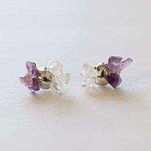 Tenpchi pierced earrings / 100
