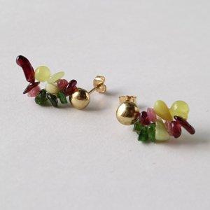 Tenpchi pierced earrings / 120
