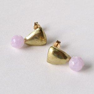 Tenpchi pierced earrings / 123