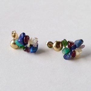 Tenpchi pierced earrings / 124