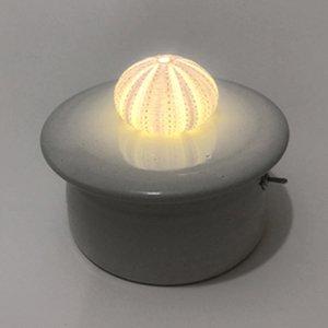 川村忠晴 陶器のライト ウニ 03