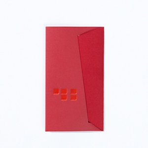 D-BROS PAPER CARD CASE red