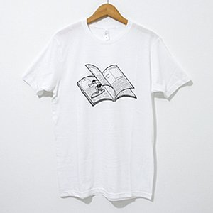 Noritake / T-SHIRTS MAGAZINE WAVE (white)・M
