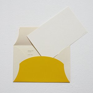 PAPIER LABO. パピエラボ CYLINDER LETTER SET / yellow