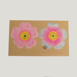 ホテルバタフライ 封筒 ピンク/ホワイト