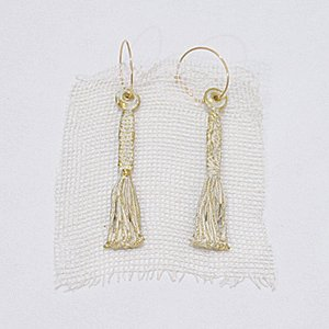 小原聖子 pierced earrings WHITE 03
