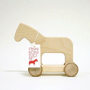 Arvo Vatanen Finnish Wooden Horse M wood
