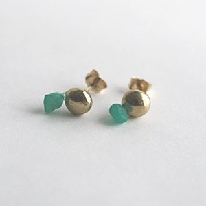 Tenpchi pierced earrings / 008