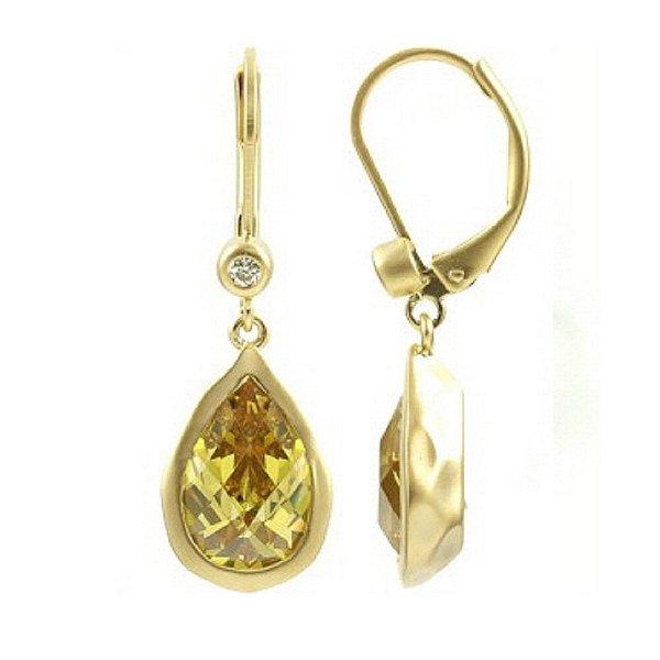 キャサリン妃 イエローダイヤモンド 揺れる ピアス ロイヤル ファッション ジュエリー