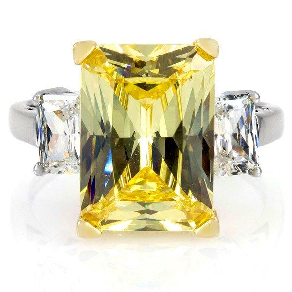 イエローダイヤモンド カクテルリング 9キャラット マライア キャリー ジュエリー