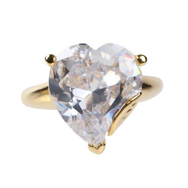 ダイヤモンド ハート18金 リング マレーネ ディートリッヒ ハリウッド スター ジュエリー