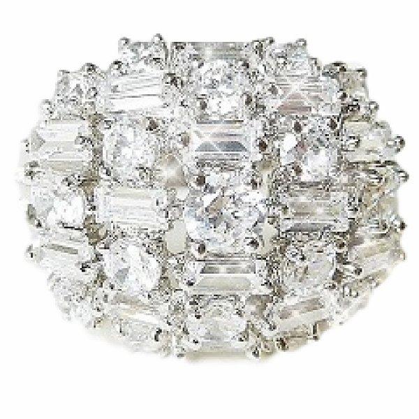 モザイク ダイヤモンド リング カクテルリング ベティ デイヴィス ハリウッド スター ジュエリー