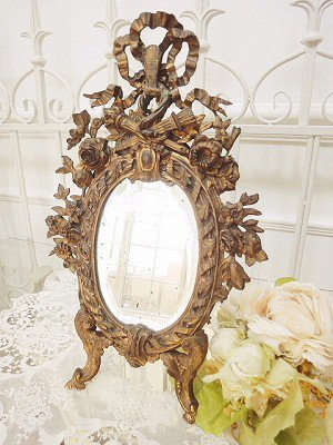 1000 images about home frame mirror on pinterest shabby chic vintag - Shabby vintage gustavien ...