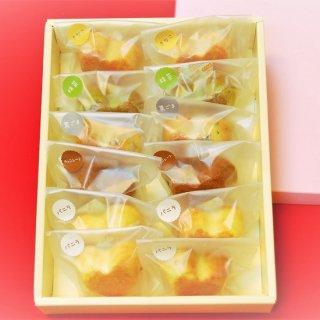 豆乳入りハートのプチケーキ12個入りセット