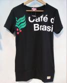 athleta(アスレタレディース) ロング丈Tシャツ (BLK)