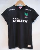 athleta(アスレタレディース) カフェブラフレンチスリーブTシャツ (BLK)