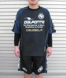 DalPonte(ダウポンチ)  ハーフピステスーツ (BLK)