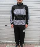 DUELO(デュエロ) ボーダートレーニングZIP UP (BLK/GRY)