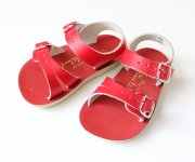 <img class='new_mark_img1' src='https://img.shop-pro.jp/img/new/icons20.gif' style='border:none;display:inline;margin:0px;padding:0px;width:auto;' />【30%off】Salt Water Sandals(ソルトウォーター)/Baby Seawee red