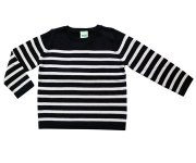 <img class='new_mark_img1' src='//img.shop-pro.jp/img/new/icons7.gif' style='border:none;display:inline;margin:0px;padding:0px;width:auto;' />FUB(ファブ)/Simple stripe blouse Navy×Ecru