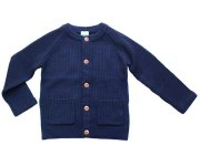 <img class='new_mark_img1' src='//img.shop-pro.jp/img/new/icons7.gif' style='border:none;display:inline;margin:0px;padding:0px;width:auto;' />FUB(ファブ)/Knit Jacket Navy